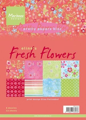 MEI Pretty Papers bloc Eline`s Fresh Flowers PB7045