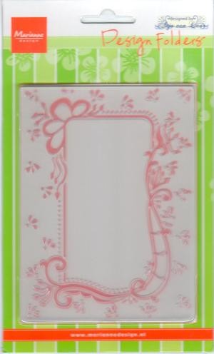 Design folder Anja`s decorative rectangle DF3406