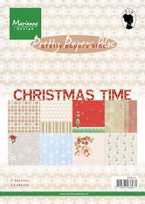 Pretty Papers bloc Christmas Time PK9111
