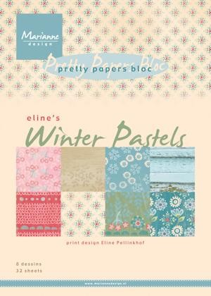 Pretty Papers bloc Eline`s winter pastels PB7046