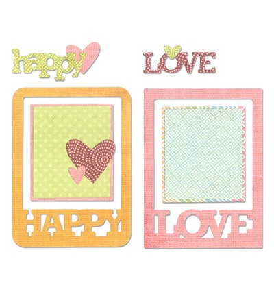 Sissix ThinLits Phrase Cards 659977