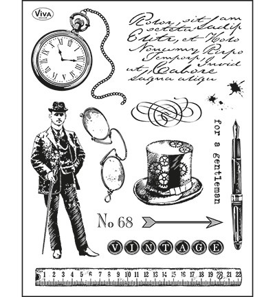 Viva 4003.099.00 - Clear Stamps - Gentleman