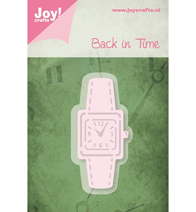 Joy! 6002/0222 - Cutting & Embossing - Stencil horloge