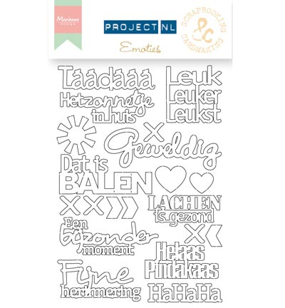 PL3503 - Project NL Chipboard - Chipboard-Emoties