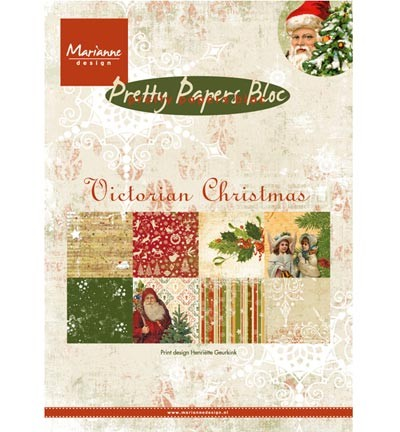 PK9125 - Pretty Papers - A5 - Victorian Christmas