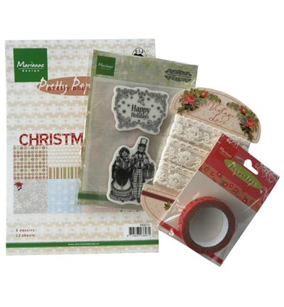PA4009 - Assortie Pakket - Happy Holidays