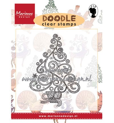 Clear Stamp christmas tree EWS2212