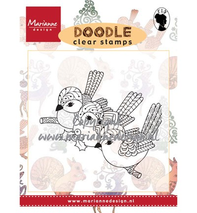 Clear Stamp birds EWS2213