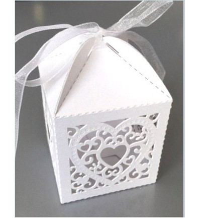 Papier » Papier » Divers » Filigree Paper Box Heart  87681