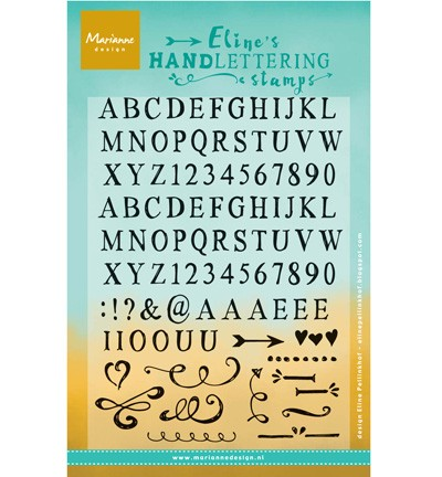 Clear Stamp Eline`s handlettering light EC0158