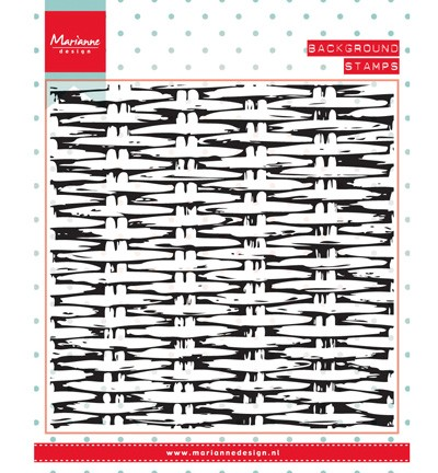 Clear Stamp background wicker CS0952