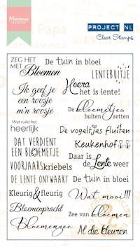 Clear Stamp Project NL -  - bloemen PL1523