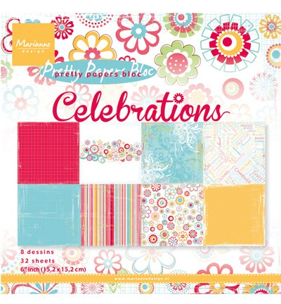 Marianne Design » Pretty Papers - 15.2 x 15.2cm PK9131