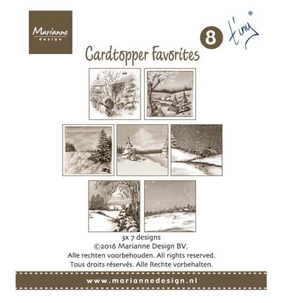 CT1508  - Card Toppers - Tiny 2