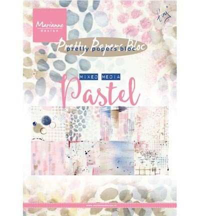 Pretty Papers - A5 Tiny Mixed Media - Pastels PK9141
