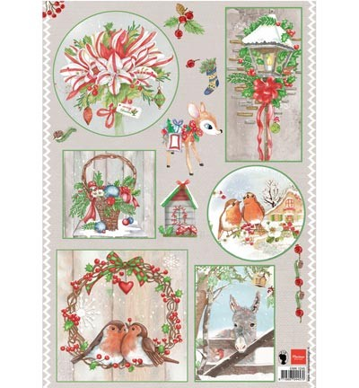 Marianne Design » Els(EWK) Country Christmas 1  EWK1245