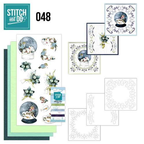 Stitch and Do 48 - Winterfun            STDO048