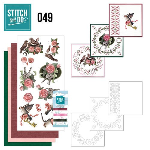 Stitch and Do 49 - Verhuizen            STDO049
