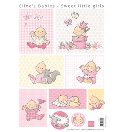 Knipvellen » Marianne Design » Eline`s sweet little girls  AK0064
