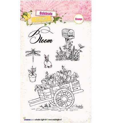 Studio Light » Stamps Celebrate Spring STAMPCS171