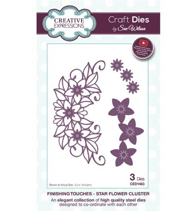 "Creative Expressions ""Star Flower Cluster"" CED1463"