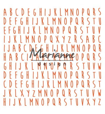 Marianne Design » Design Folder  DF3437