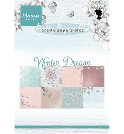 Marianne Design » Pretty Papers -PK9150 Winter dream