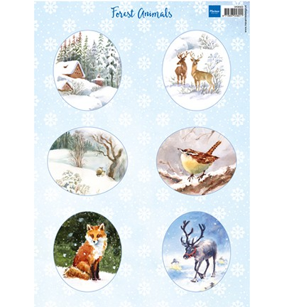Knipvellen » Marianne Design Forest animals – fox VK9563