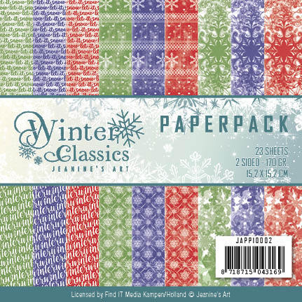 Jeanine Art - Winter Classics - Paperpack