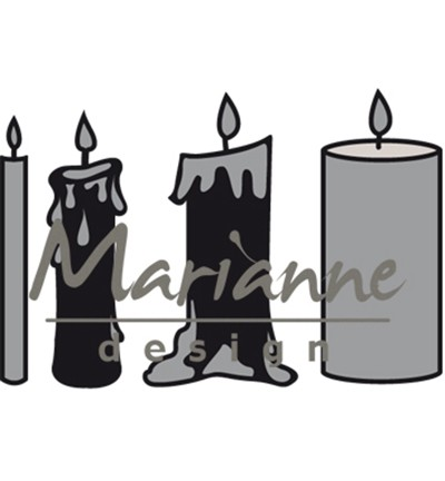 Marianne Design Craftables CR1426 - Candles set