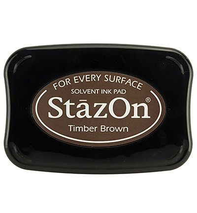 StaZon Ink Pad SZ-000-041 - Timber Brown