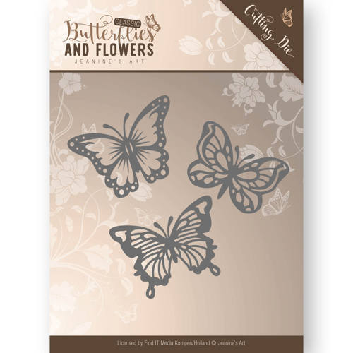 Die - Jeanine`s Art - Classic Butterflies and Flowers - Butterflies