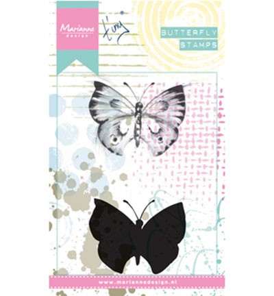 Marianne Design Cling Stamps Tiny`s Butterfly 1 MM1613