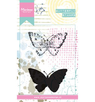 Marianne Design Cling Stamps Tiny`s Butterfly 2 MM1614