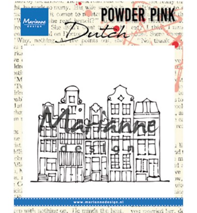 PP2804 - Powder Pink - Canal houses