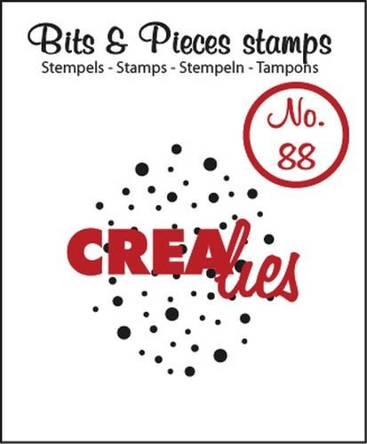 Crealies Clearstamp Bits&Pieces no. 88 cloud of dots 25x27 mm