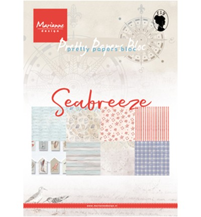 Pretty Papers Blocks - A5 PK9156 - Seabreeze