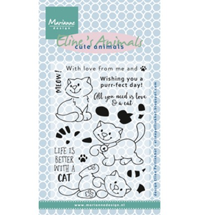 EC0172 - Eline`s kittens CLEARSTAMP