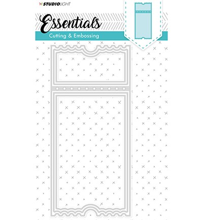 STENCILSL99 - Embossing Die Cut Stencil Essentials nr.99