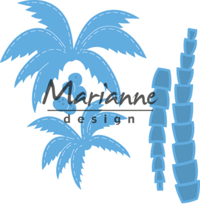 LR0541 - Marianne Design Creatable Palm trees