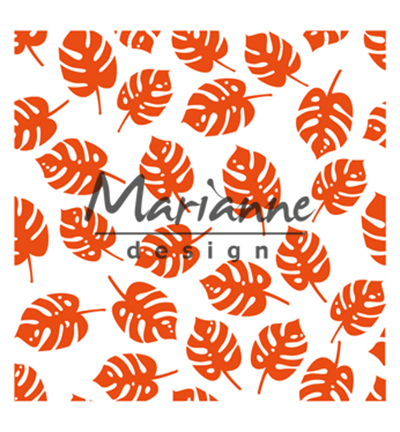 Design Folder Tropical leaves