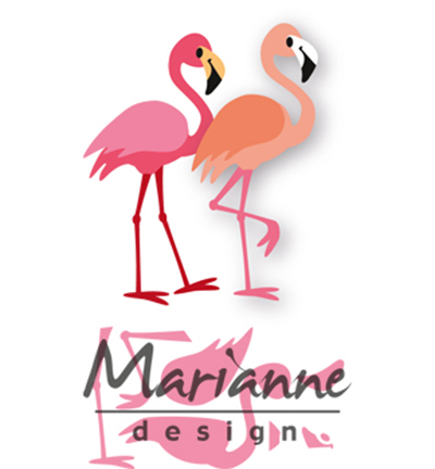 Marianne Design Collectable Eline's flamingo  COL1456*