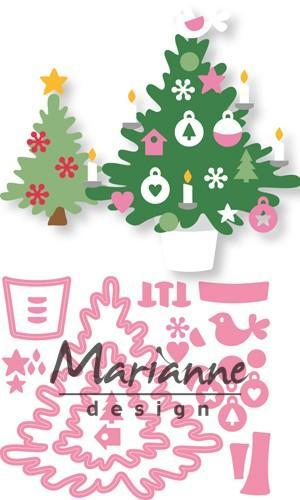 Marianne D Collectable Eline's Kerstboom COL1459* 15 x 21 cm (09-18)*