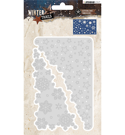 Cutting and Embossing Die Winter Trails, nr.105