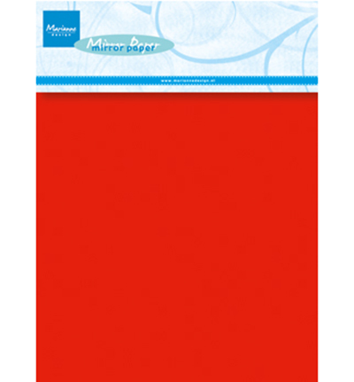 CA3137 - Red mirror paper