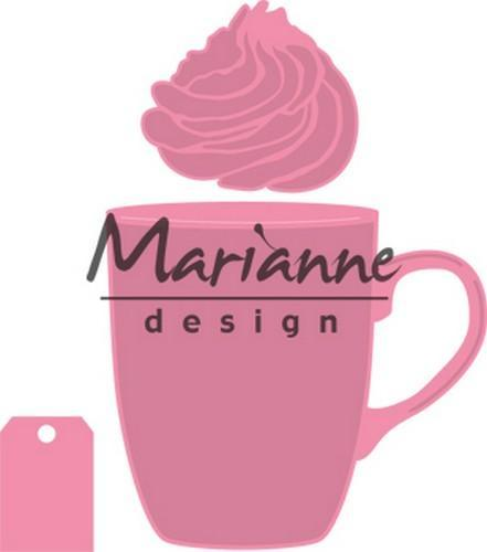 Marianne D Collectable mok Hot chocolate (COL 1366 for free) COL14621