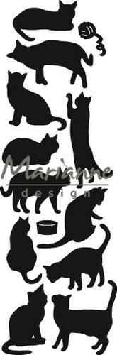 Marianne D Craftable Punch die Cats CR1451