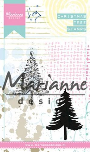 Marianne D Cling Stamps Tiny's kerstboom MM1625)