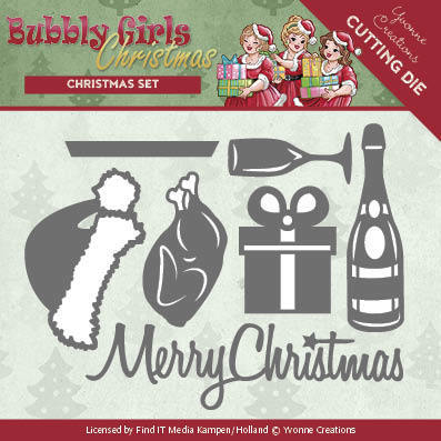 Dies - Yvonne Creations - Bubbly Girls Christmas - Christmas Set