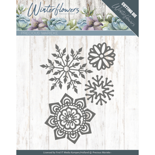 Dies - Precious Marieke - Winter Flowers - Ice flowers